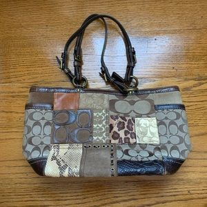 Coach Patchwork Bag from 2007